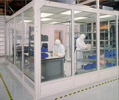 Cleanrooms - California - Portable Modular hardwall cleanroom ...